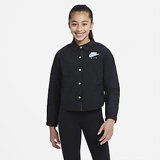 Nike Air Jacka för ungdom (tjejer)