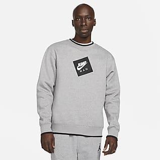 Jordan Jumpman Classics Herren-Fleece-Sweatshirt mit Rundhalsausschnitt