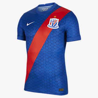 2021 赛季上海绿地申花主场球员版 男子足球球衣