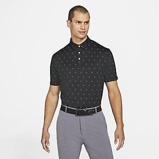 Nike Dri-FIT Player Pánská golfová polokošile s potiskem