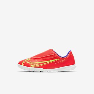 Nike Jr. Mercurial Vapor 14 Club IC Halowe buty piłkarskie dla małych dzieci
