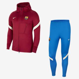 FC Barcelona Strike Nike Dri-FIT Erkek Futbol Eşofmanı