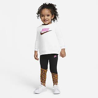 Nike Baby (12-24M) Crew and Leggings Set