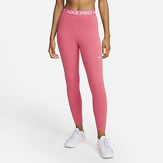 Nike Pro 365 Leggings i 7/8-längd med hög midja för kvinnor