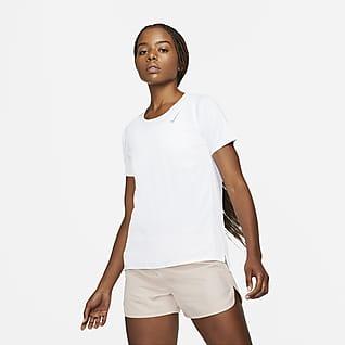 Nike Dri-FIT Race Haut de running à manches courtes pour Femme