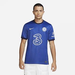Chelsea FC 2020/21 Stadium Home Fodboldtrøje til mænd