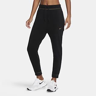 Nike Icon Clash Träningsbyxor i fleece för kvinnor