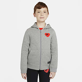 Liverpool F.C. Older Kids' Full-Zip Hoodie
