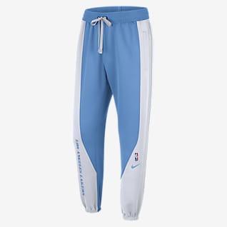Los Angeles Lakers Showtime City Edition Pantalones de la NBA Nike Therma Flex para hombre