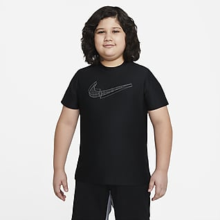 Nike Big Kids' (Boys') Graphic Short-Sleeve Training Top (Extended Size)