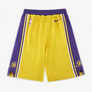 洛杉矶湖人队 Icon Edition Nike NBA Replica 幼童短裤