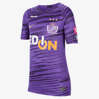 Hiroshima スタジアム ホーム ジュニア サッカーユニフォーム