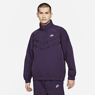Nike Sportswear Heritage Windrunner Casaco com capuz e fecho até meio para homem