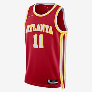 Atlanta Hawks Diamond Icon Edition Nike Dri-FIT NBA Swingman Jersey