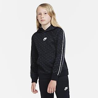 Nike Sportswear Hettegenser til store barn (gutt)
