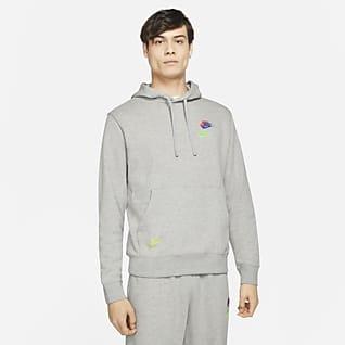 Nike Sportswear Essentials+ Sudadera con gorro de French Terry para hombre