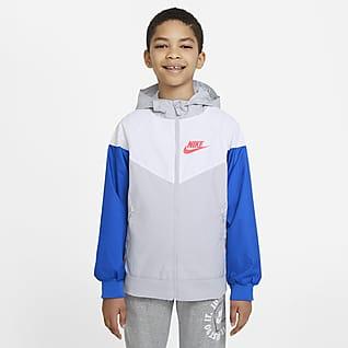 ナイキ スポーツウェア ウィンドランナー ジュニア (ボーイズ) ジャケット