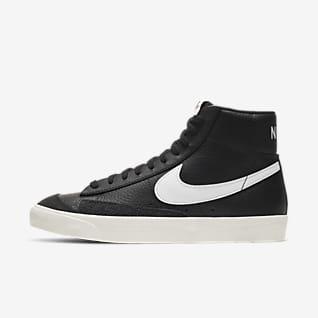 popular black nike shoes