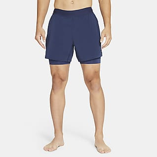 Nike Yoga 2-in-1-Herrenshorts
