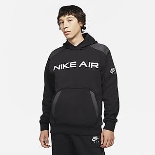 Nike Air Pullover Fleece Hettegenser til herre