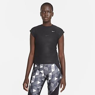 Serena Design Crew Camiseta de tenis de manga corta - Mujer