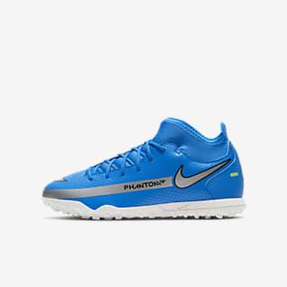 Nike Jr. Phantom GT Club Dynamic Fit TF Fotbollssko för grus/turf för barn och ungdom