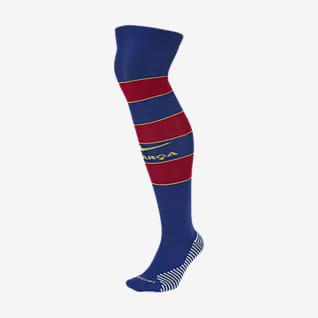 FC Barcelona 2020/21 Stadium Domicile Chaussettes de football hautes