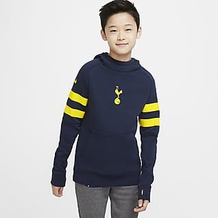 Tottenham Hotspur Hoodie pullover de futebol de lã cardada Júnior