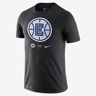 LA Clippers Logo Nike Dri-FIT NBA-t-shirt för män