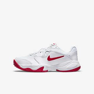 NikeCourt Jr. Lite 2 Buty do tenisa dla dużych dzieci
