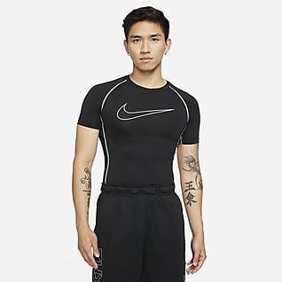 Nike Pro Dri-FIT 男子紧身短袖训练上衣