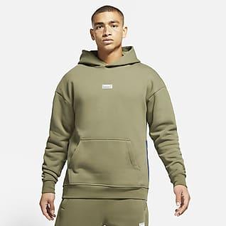Nike F.C. 男子起绒套头足球连帽衫