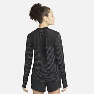 Nike Dri-FIT Run Division Hardlooptop met lange mouwen voor dames