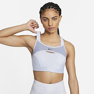 Nike Alpha UltraBreathe Sport-BH med mycket stöd för kvinnor