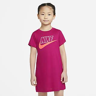 Nike Vestido playera para niña talla pequeña