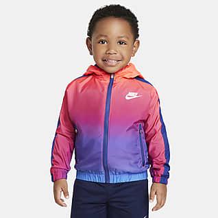 Nike Sportswear Windrunner Chamarra infantil con cierre completo