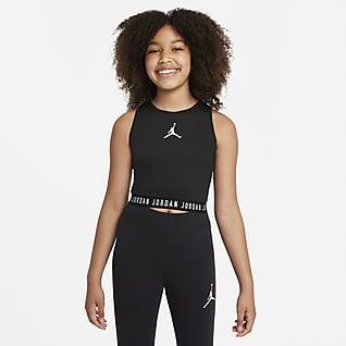 Jordan Camiseta de tirantes para niña talla grande