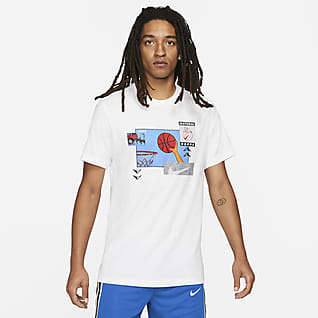 Nike Мужская баскетбольная футболка