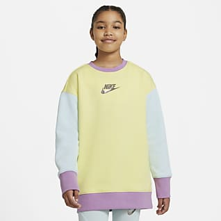 Nike Sportswear Part superior de coll rodó - Nena