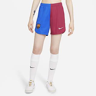FC Barcelona local 2021/22 Stadium Shorts de fútbol para mujer