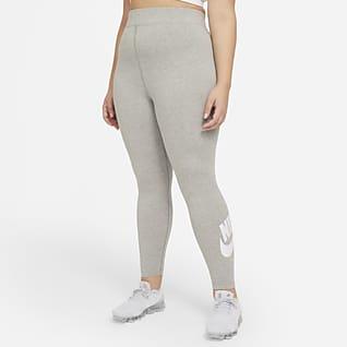 Nike Sportswear Essential Dámské legíny s vysokým pasem (větší velikost)