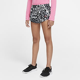 Nike Dri-FIT Big Kids' (Girls') Printed Training Shorts