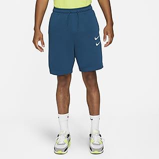 Nike Sportswear Swoosh Shorts de French Terry para hombre