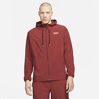 Nike Sport Clash Herren-Trainingsjacke mit durchgehendem Reißverschluss