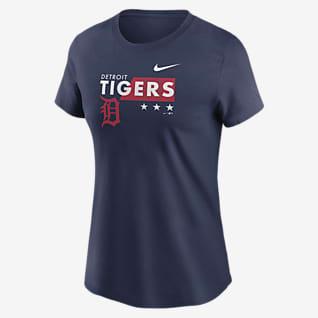 Nike Americana (MLB Detroit Tigers) Women's T-Shirt