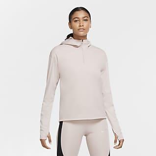 Nike Shield Run Division Женская беговая футболка