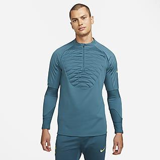 Tottenham Hotspur Strike Winter Warrior Мужская футболка для футбольного тренинга Nike Therma-FIT