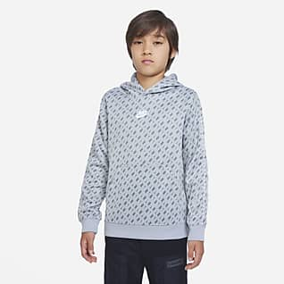 Nike Sportswear Μπλούζα με κουκούλα για μεγάλα αγόρια