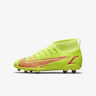 NikeJr. Mercurial Superfly8 ClubMG Chaussure de football à crampons multi-surfaces pour Jeune enfant/Enfant plus âgé