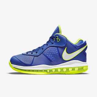"Nike LeBron 8 V/2 Low ""Treasure Blue"" Sko"